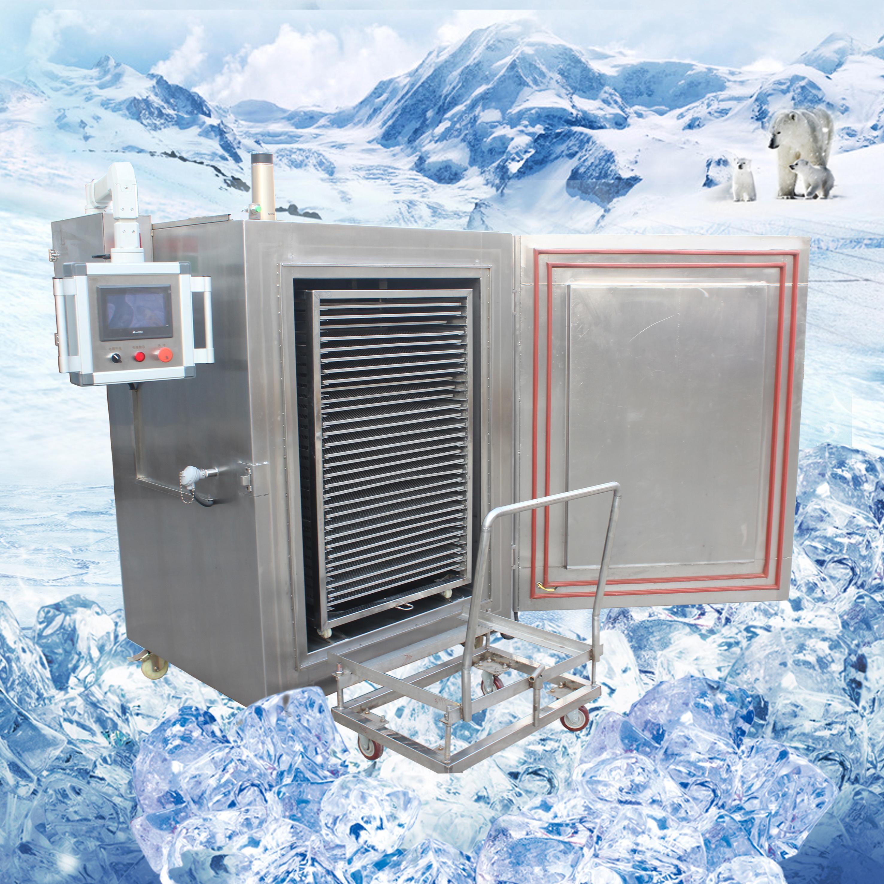 用液氮技术冷冻海鲜 口感确保原汁原味